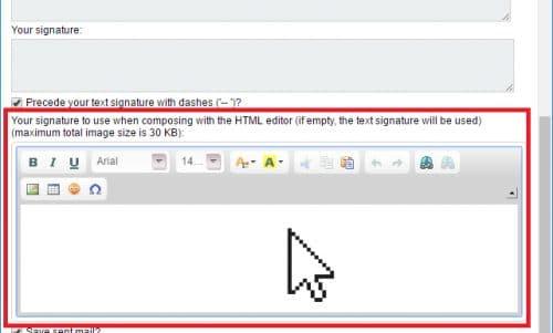 Horde HTML Editor